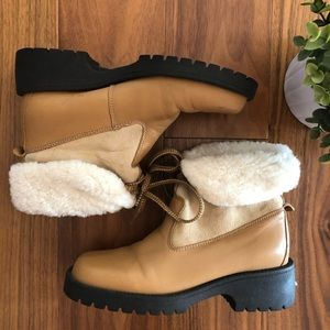 Vintage Canadian Shearling Boots